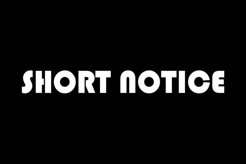 Short Notice Teaser
